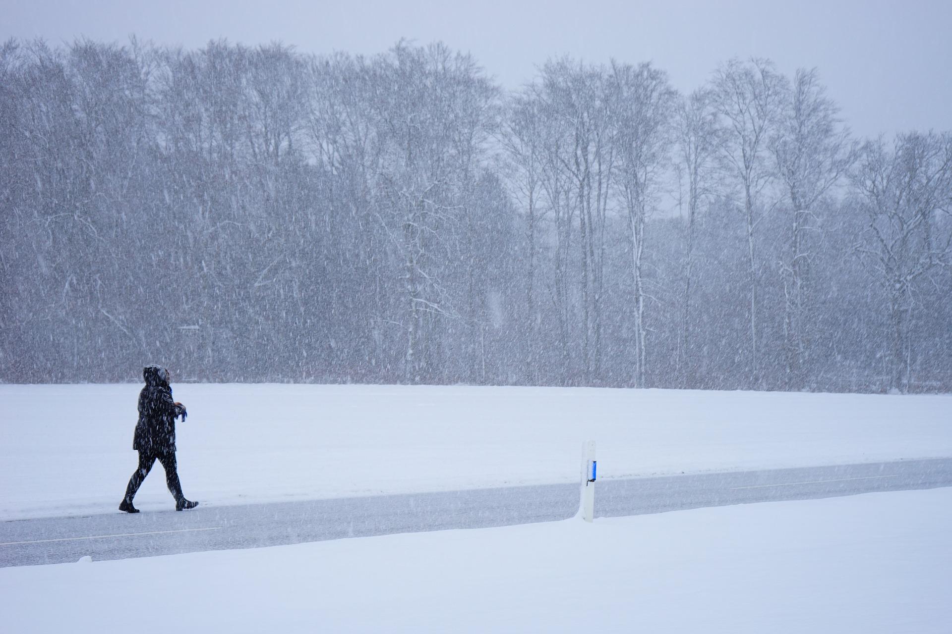 Lumikaaos Tukholmassa jatkuu ainakin ensi viikkoon asti. Kuva: Pixabay