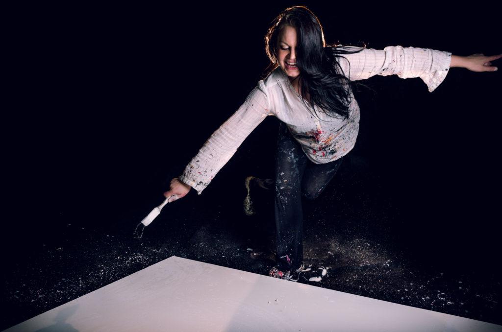 Kuvataiteilija Hanna Holopainen viettää ensi vuoden marraskuun residenssissä Berliinissä. Kuva: Sami Hiltunen