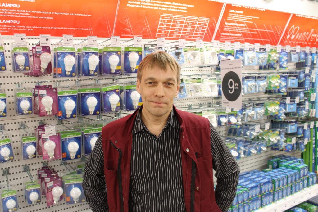 LED-lamput ja valosarjat olivat Kemppaisen mukaan halutuimpien esineiden joukossa.
